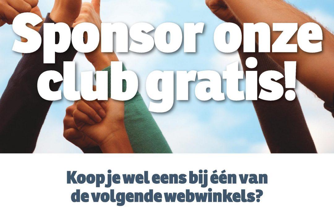 Sponsor gratis KV TOP via SponsorKliks!